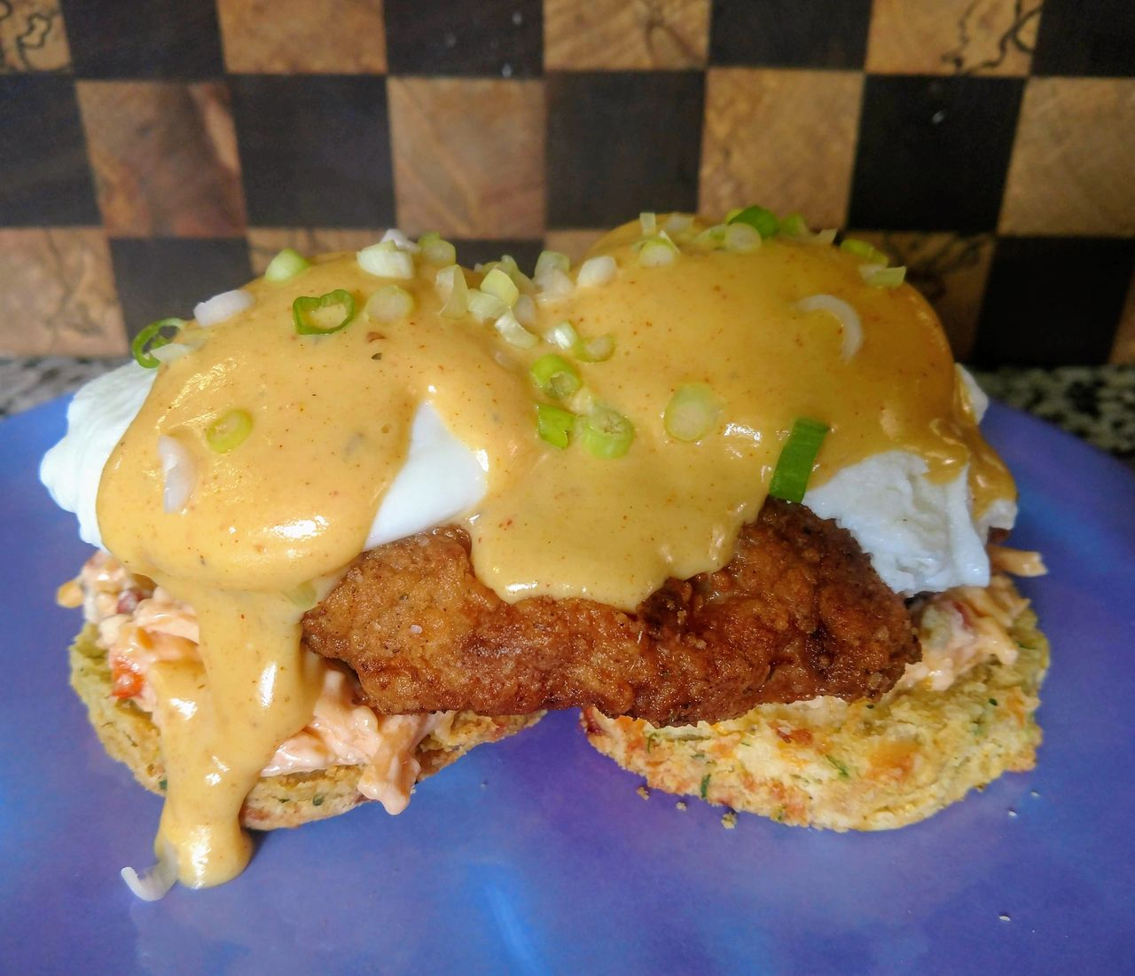 Cajun Fried Chicken Breakfast